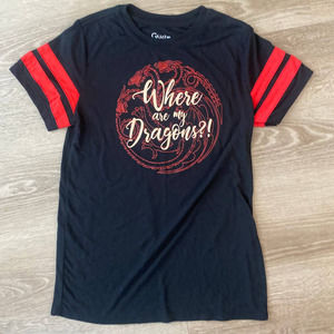 Game of Thrones Where are my Dragons Womans T-Shirt XSmall